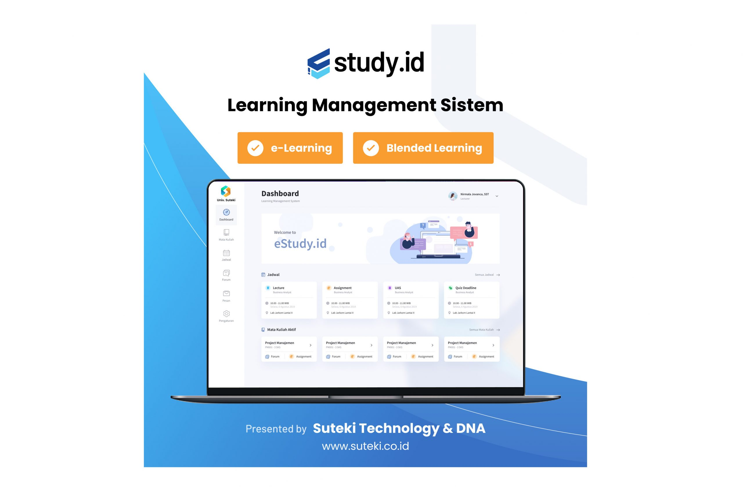 Profile produk: eStudy Learning Management System