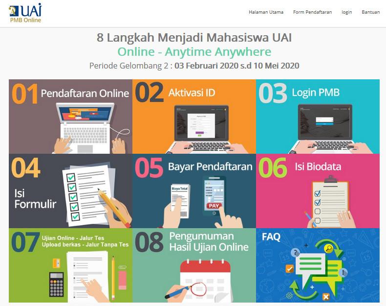 PMB Online Efektif, Cepat dan Anti Ribet pmb online uai