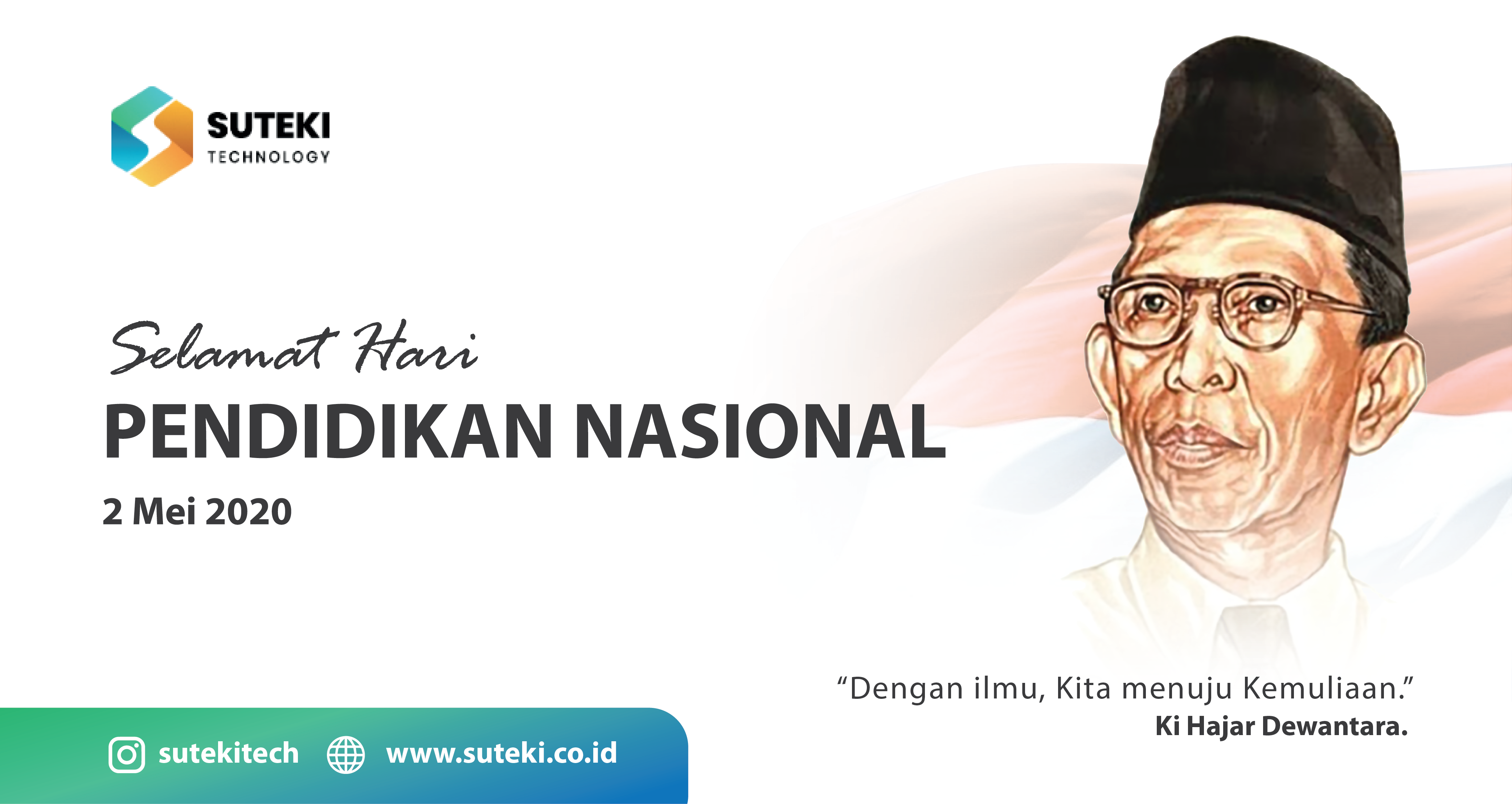 Selamat Hari Pendidikan Nasional Indonesia, 2 Mei 2020